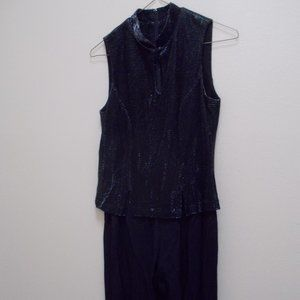 Black dress jumpsuit